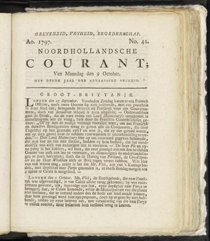 Noordhollandsche Courant 1797-10-09