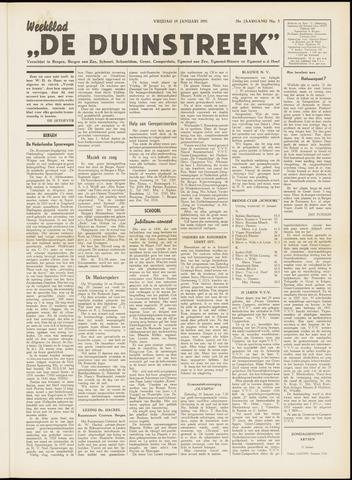 De Duinstreek 1951-01-19