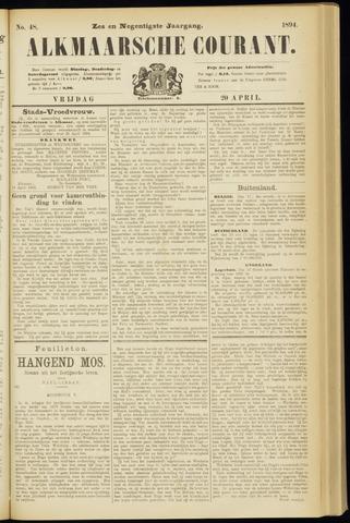 Alkmaarsche Courant 1894-04-20