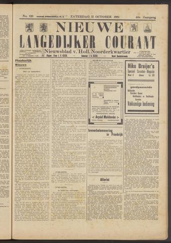 Nieuwe Langedijker Courant 1931-10-31