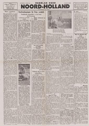 Dagblad Noord-Holland, Schager editie 1944-03-09