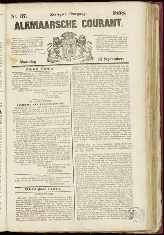Alkmaarsche Courant 1858-09-13