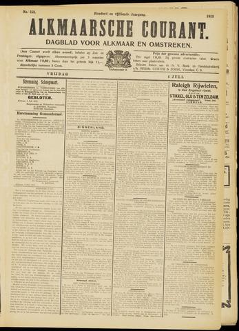 Alkmaarsche Courant 1913-07-04