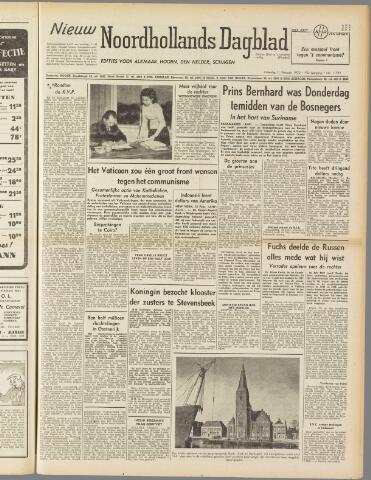 Nieuw Noordhollandsch Dagblad : voor Alkmaar en omgeving 1950-02-11