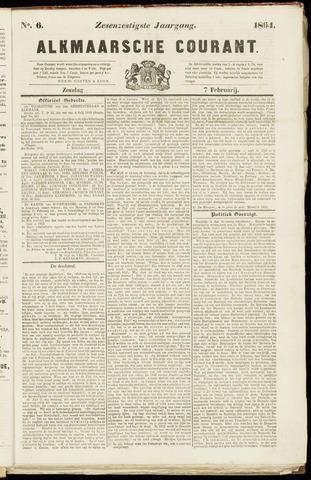 Alkmaarsche Courant 1864-02-07