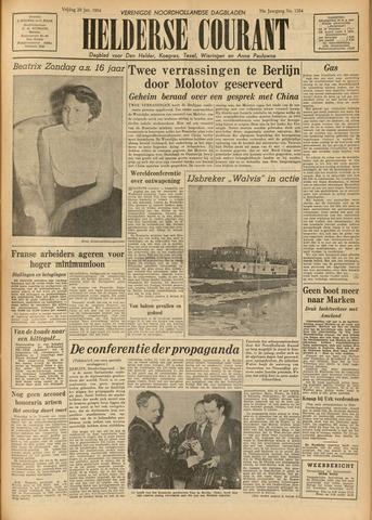 Heldersche Courant 1954-01-29