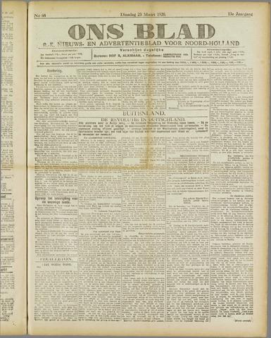 Ons Blad : katholiek nieuwsblad voor N-H 1920-03-23
