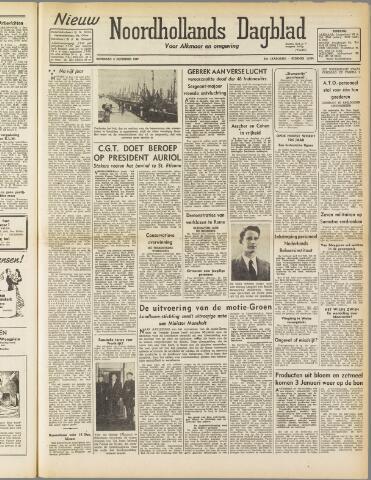 Nieuw Noordhollandsch Dagblad : voor Alkmaar en omgeving 1947-12-06