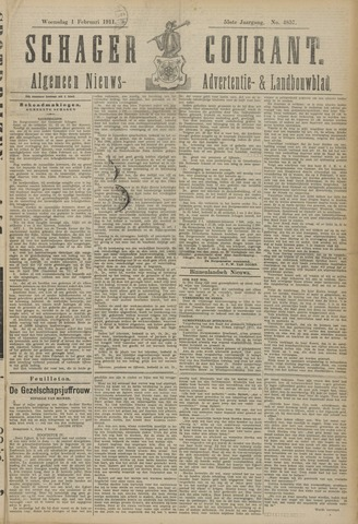 Schager Courant 1911-02-01