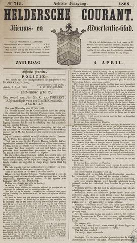 Heldersche Courant 1868-04-04