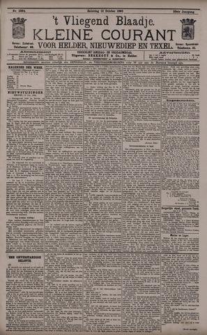 Vliegend blaadje : nieuws- en advertentiebode voor Den Helder 1895-10-12
