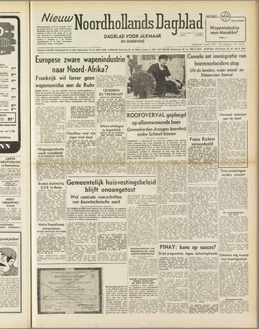 Nieuw Noordhollandsch Dagblad : voor Alkmaar en omgeving 1952-03-05