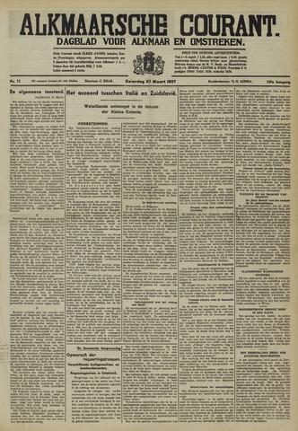 Alkmaarsche Courant 1937-03-27