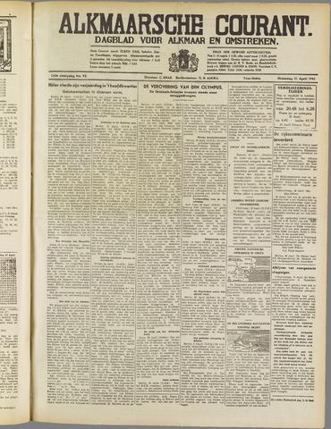 Alkmaarsche Courant 1941-04-21