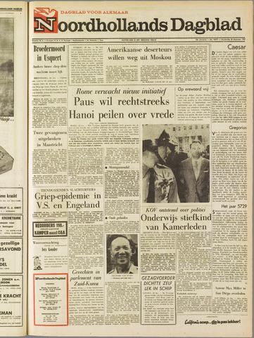 Noordhollands Dagblad : dagblad voor Alkmaar en omgeving 1967-12-28