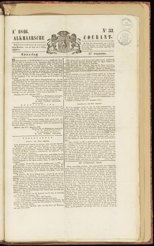 Alkmaarsche Courant 1846-08-17