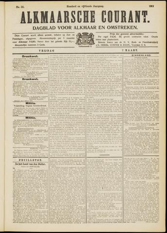 Alkmaarsche Courant 1913-03-07