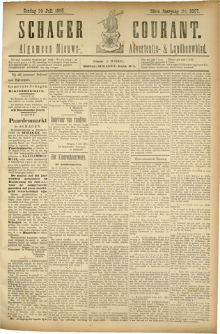 Schager Courant 1895-07-14