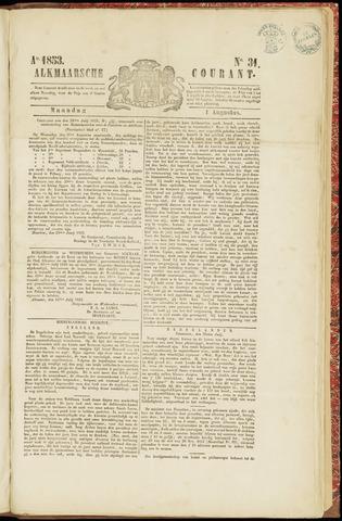 Alkmaarsche Courant 1853-08-01