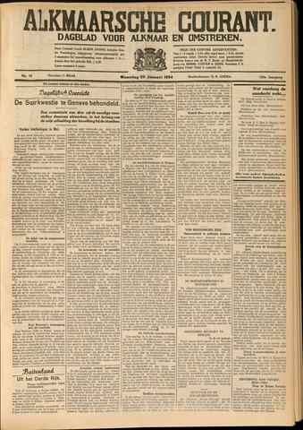 Alkmaarsche Courant 1934-01-22