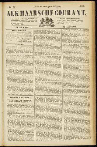 Alkmaarsche Courant 1885-08-12
