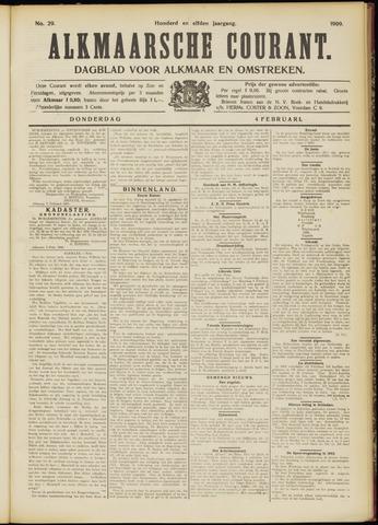 Alkmaarsche Courant 1909-02-04