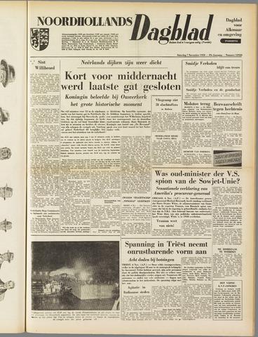 Noordhollands Dagblad : dagblad voor Alkmaar en omgeving 1953-11-07