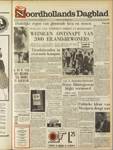Noordhollands Dagblad : dagblad voor Alkmaar en omgeving 1965-09-29