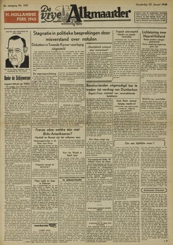 De Vrije Alkmaarder 1948-01-22