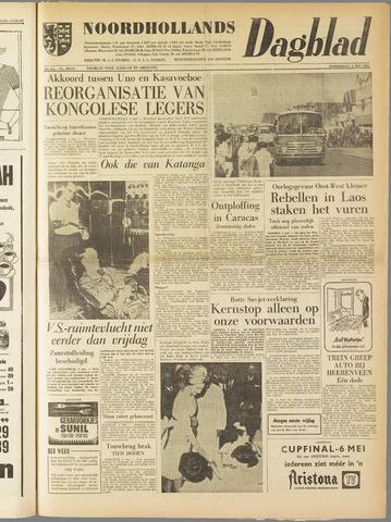 Noordhollands Dagblad : dagblad voor Alkmaar en omgeving 1961-05-04