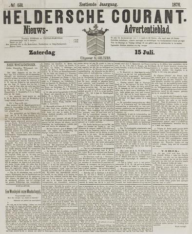 Heldersche Courant 1876-07-15