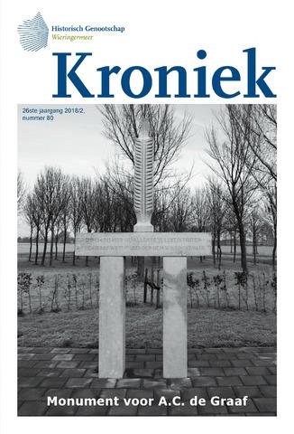 Kroniek Historisch Genootschap Wieringermeer 2018-08-01