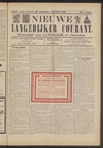 Nieuwe Langedijker Courant 1923-11-01