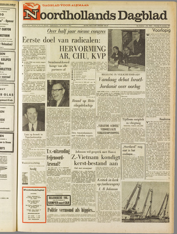 Noordhollands Dagblad : dagblad voor Alkmaar en omgeving 1967-11-13