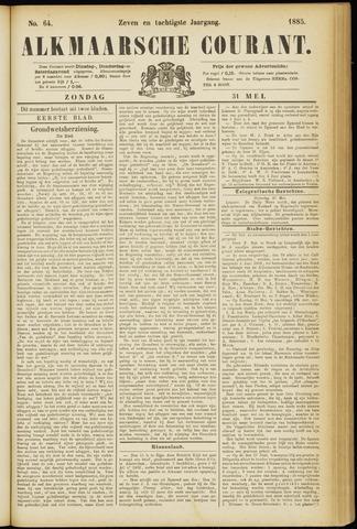 Alkmaarsche Courant 1885-05-31