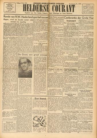 Heldersche Courant 1949-05-27