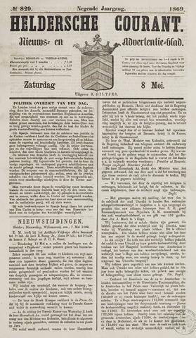 Heldersche Courant 1869-05-08