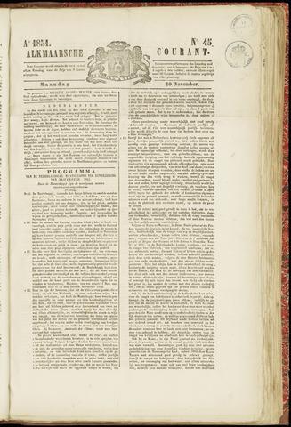 Alkmaarsche Courant 1851-11-10