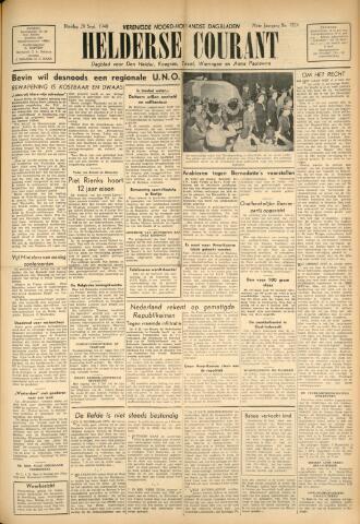 Heldersche Courant 1948-09-28