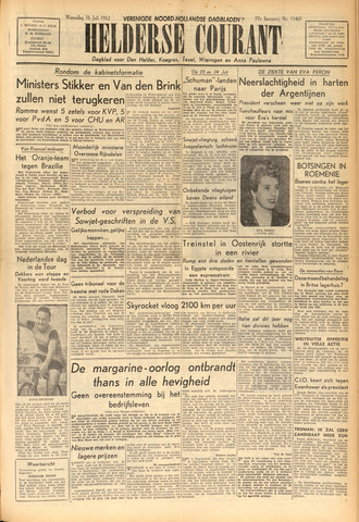 Heldersche Courant 1952-07-16