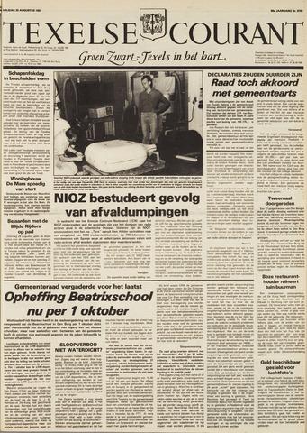 Texelsche Courant 1982-08-20