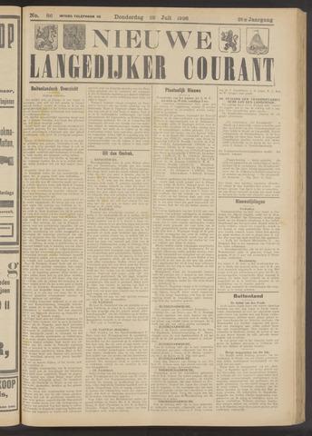Nieuwe Langedijker Courant 1926-07-22