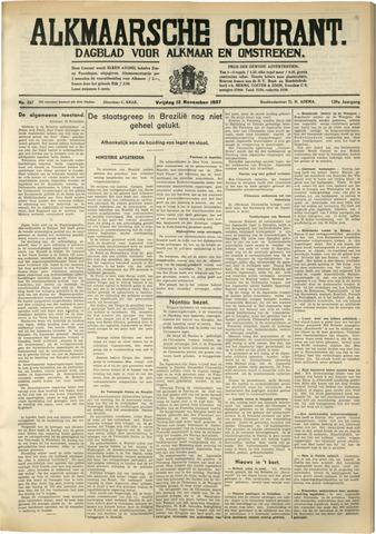 Alkmaarsche Courant 1937-11-12