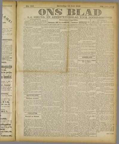 Ons Blad : katholiek nieuwsblad voor N-H 1919-07-12