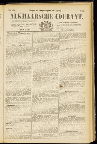 Alkmaarsche Courant 1897-08-22
