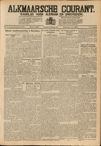 Alkmaarsche Courant 1939-01-18
