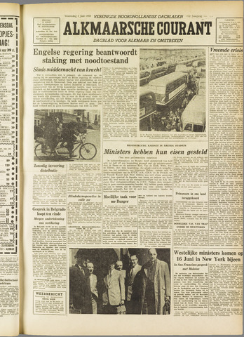 Alkmaarsche Courant 1955-06-01