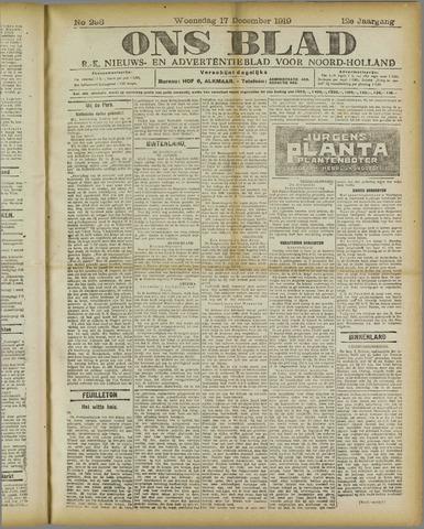 Ons Blad : katholiek nieuwsblad voor N-H 1919-12-17