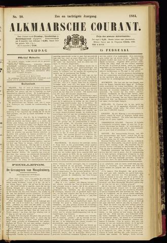 Alkmaarsche Courant 1884-02-15