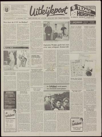 Uitkijkpost : nieuwsblad voor Heiloo e.o. 1991-11-20